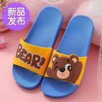女童卡通童装居家儿童防滑男夏季可爱拖鞋室内童鞋宝托鞋77亲子小