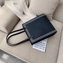 包包女包新款2019时尚子母包简约百搭手提包大容量通勤公文单肩包