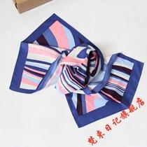 浦发领带丝巾浦发银行男士领带女士丝巾银行专用领带丝巾服饰配件