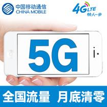 海南移动流量充值5G 全国流量 当月有效 QG