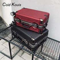 ck行李箱男女24寸铝框旅行箱26寸密码皮箱子万向轮拉杆箱登机20寸