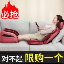 肩颈椎按摩器多功能电动全身家用腰椎颈部腰部背部揉捏仪后背靠垫