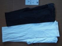 法国Rime 原单 40D仿牛仔8分9分裤 黑色