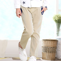 Cotton autumn spring and autumn in the big children's children's Korean version of casual pants