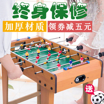 Table football wit puzzle toy boys table game double table-style parent-child table tennis boys gift 10