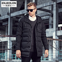 British Viscount Europe men's cotton wear long cotton winter warm coat in new padded winter jacket coat