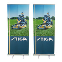Custom display screen advertising 80x200 portable aluminum Irabao wedding poster developed