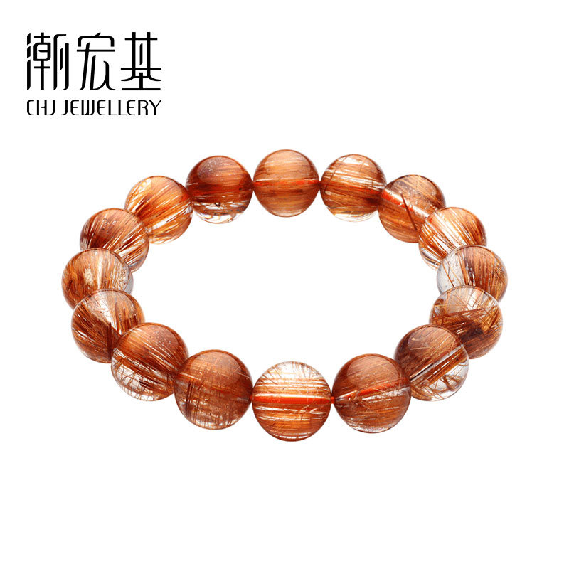 Chao Acer jewelry crystal 髮 crystal 錬 hand-stringed hand rope blessing crystal jewelry man
