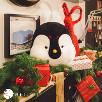 The original design (Molisii Morrissey) Zhengqi Pillow - Penguin holiday gift cushion