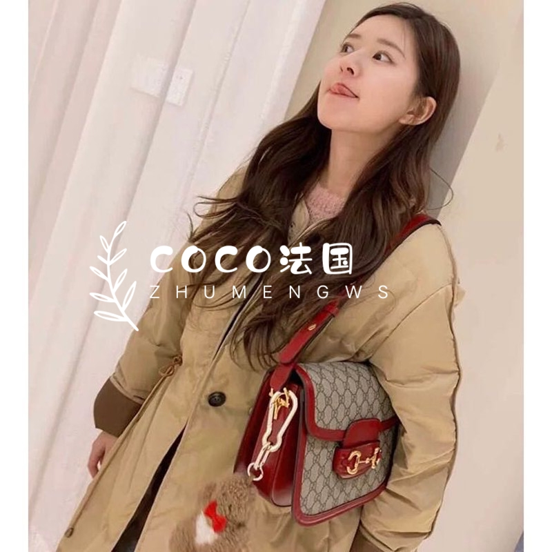 coco French maje Zhao Ruth the same 2020 autumn winter new loose Korean version of the round collar cotton coat