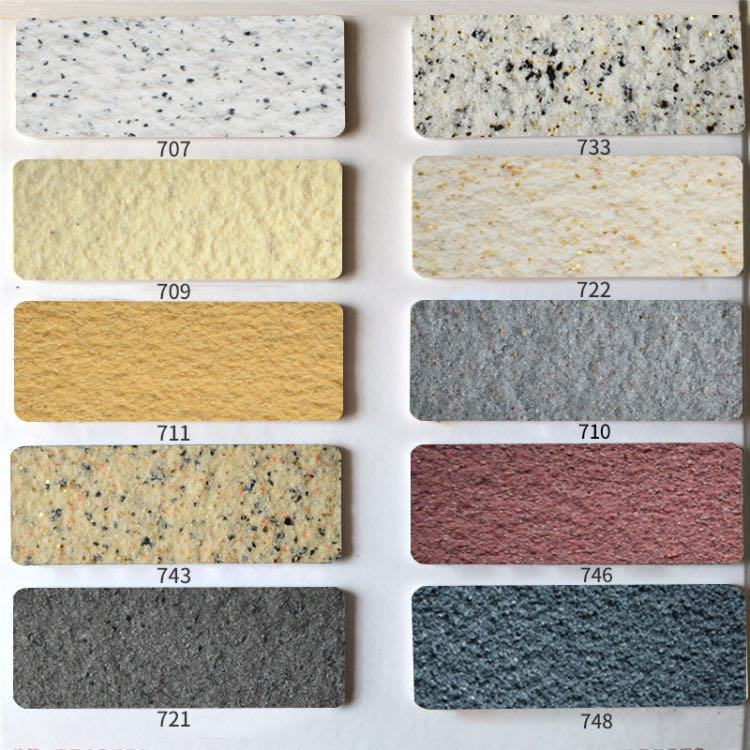 True stone paint outside 墻 paint stone paint real paint imitation marble paint colorful art paint waterproof sun blast paint