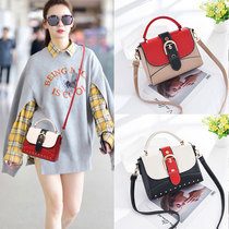 Summer on the new Korean version of fashion wild cross-body one-shoulder small party bag