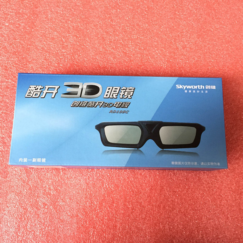 Skywiver cool open the original active shutter type 3D glasses RD1CSC E550D E780 790U and other 4K television