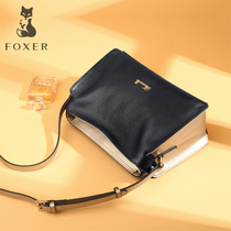 Gold Fox leather soft leather casual fashion wild crossbody