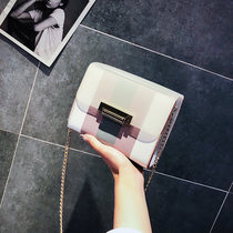 Chain hit color wild Cross-Body on the new summer One Shoulder mini bag