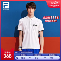 FILA ATHLETICSFila mens short-sleeve POLO shirt 2020 summer new sports short-sleeved men