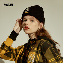MLB official mens and womens hat NY wool cap LOGO embroidered autumn winter sports personality fashion leisure trend CB9