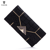 valor fashion genuine leather head layer cowhide Europe and the United States splicing wallet