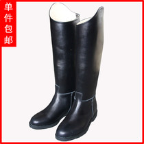 Custom leather professional leather Knight dance boots equestrian dressage boots solid color dance boots