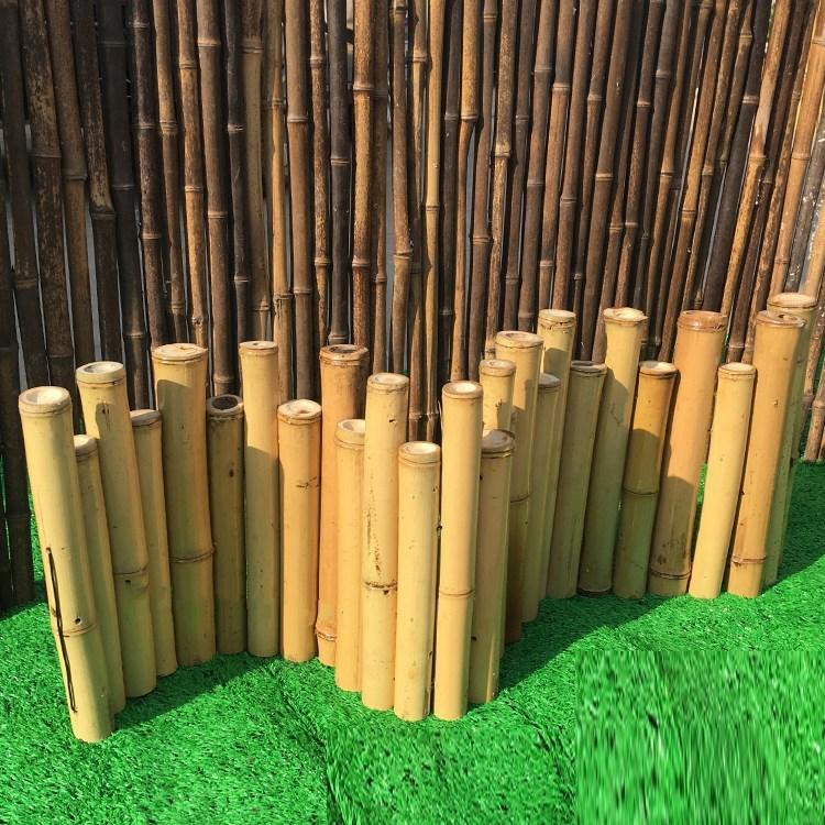 竹子装饰 篱笆栅栏围墙护栏 竹篱笆 户外 室内 日式 庭院装饰围栏