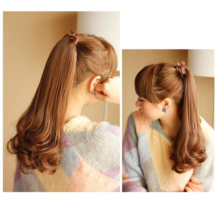 梨花头马尾发型分享展示图片
