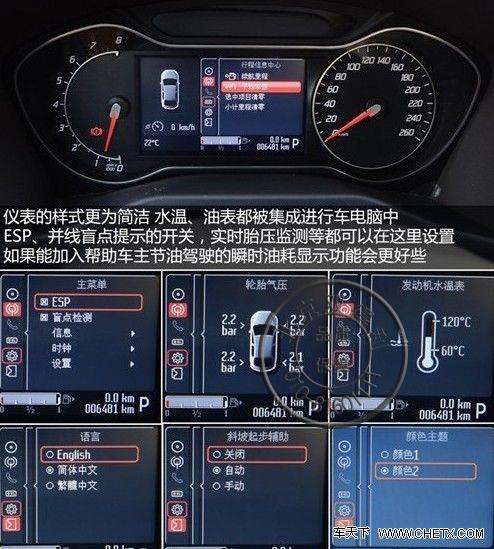 热卖全新原厂福特蒙迪欧致胜仪表盘 麦克斯液晶仪表 带油耗 自发光图片