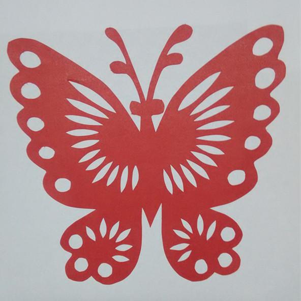 纯手工剪纸窗花ipaper蝴蝶王国动物 传统中国剪纸作品