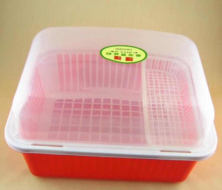 盖碗滴水人员碗盆收纳架沥水带碗柜架碗筷架塑厨房值班牌定做图片