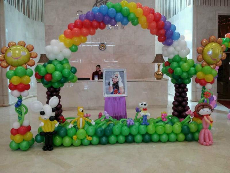 热卖节日气球拱门支架底座店铺开业超市生日装饰婚礼结婚布置婚庆用品图片