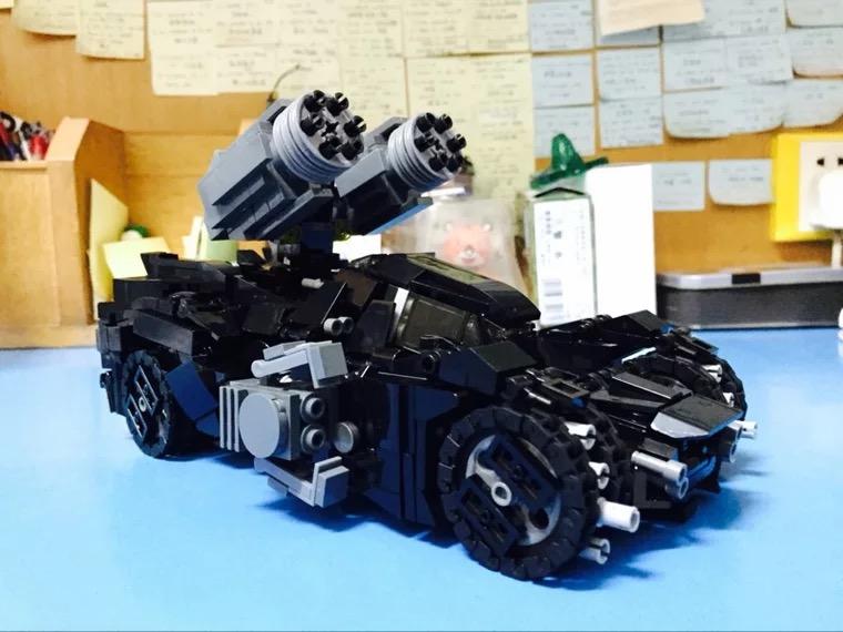 热卖原创积木 炮轰 加特林 机枪 武器装备 玩家自改装武器包 拼装积木图片
