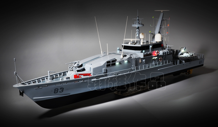 热卖三江模型1/48澳大利亚皇家海军阿米代尔级巡逻艇仿真船套材 包邮