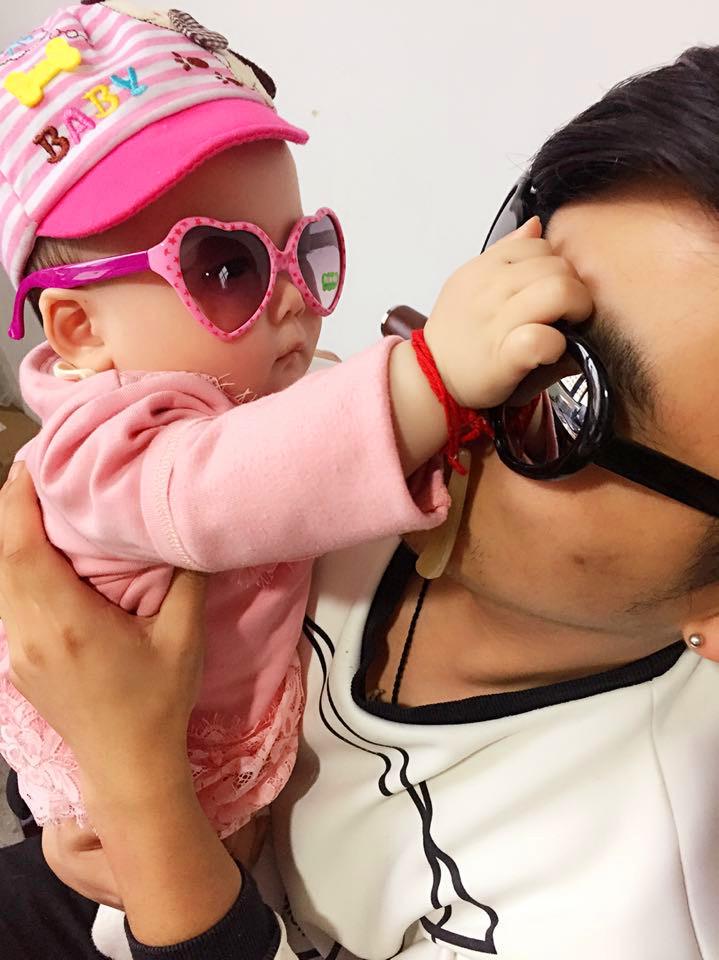 可爱桃心儿童太阳镜女宝宝爱心墨镜男小孩心形太阳眼镜潮1 2 3岁图片