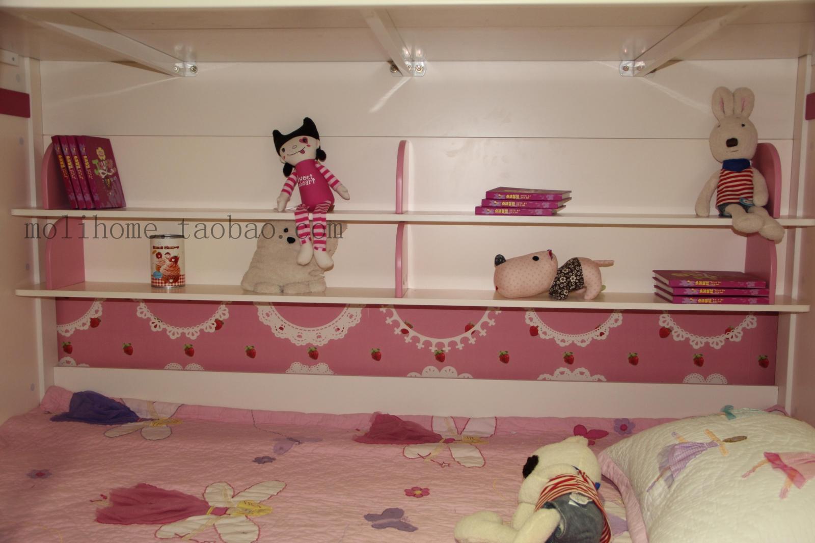 双层上下床房间设计 儿童公主房间上下床儿童上下图片