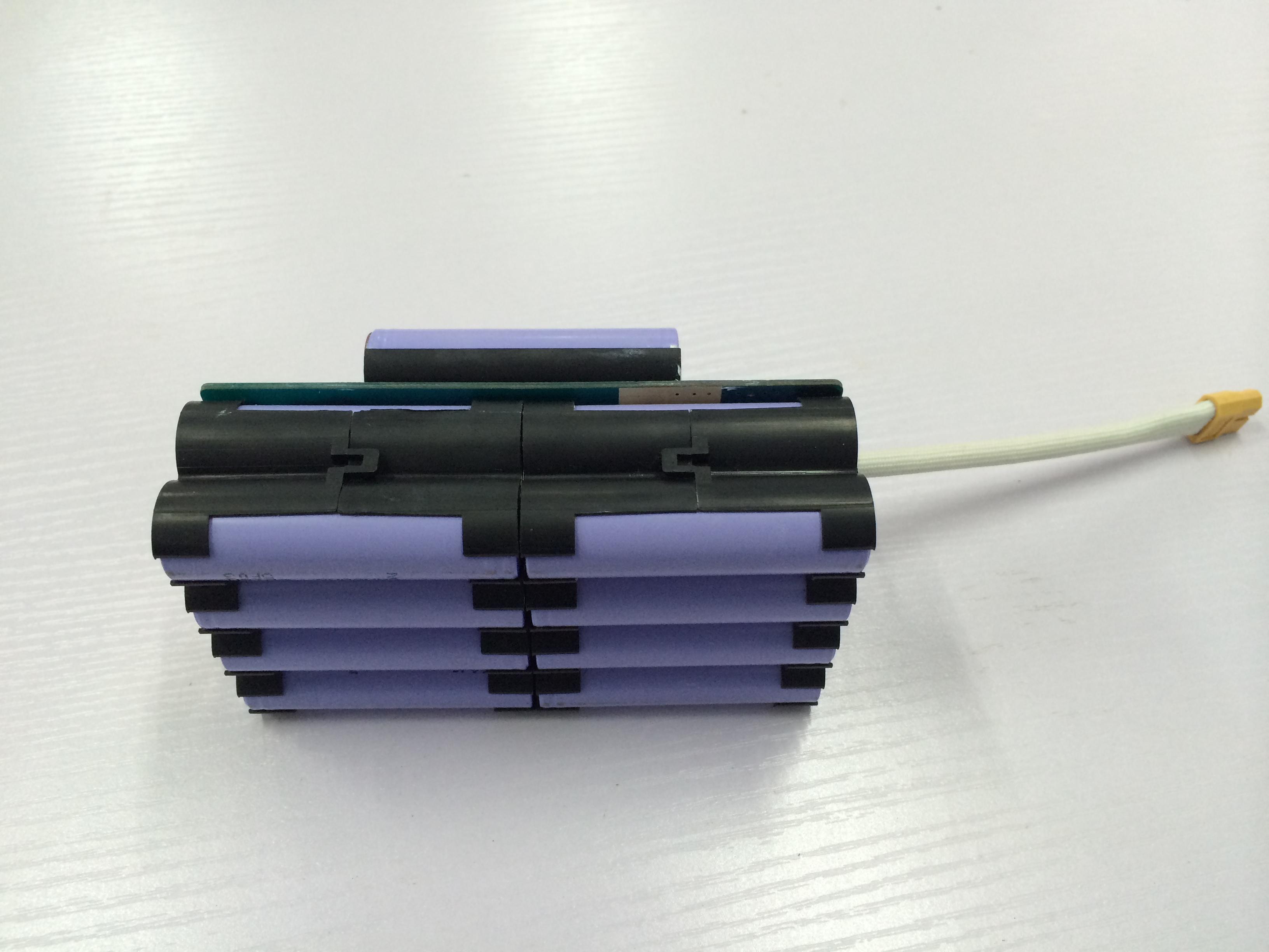 扭扭车电池固定支架 18650塑胶支架 平衡车电池支架图片