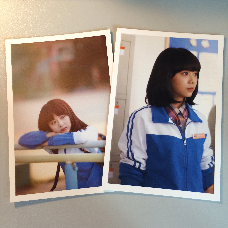 新款电视剧最好的我们刘昊然谭松韵同款明信片周边图片