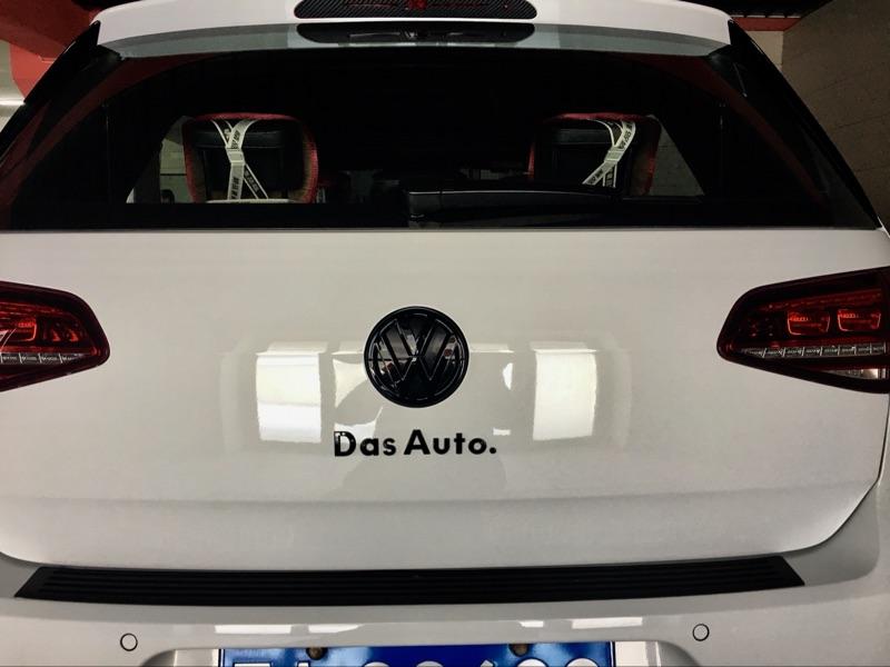 热卖大众dasauto车贴 高尔夫宝来cc车标贴迈腾凌渡途安尾标改装字母贴