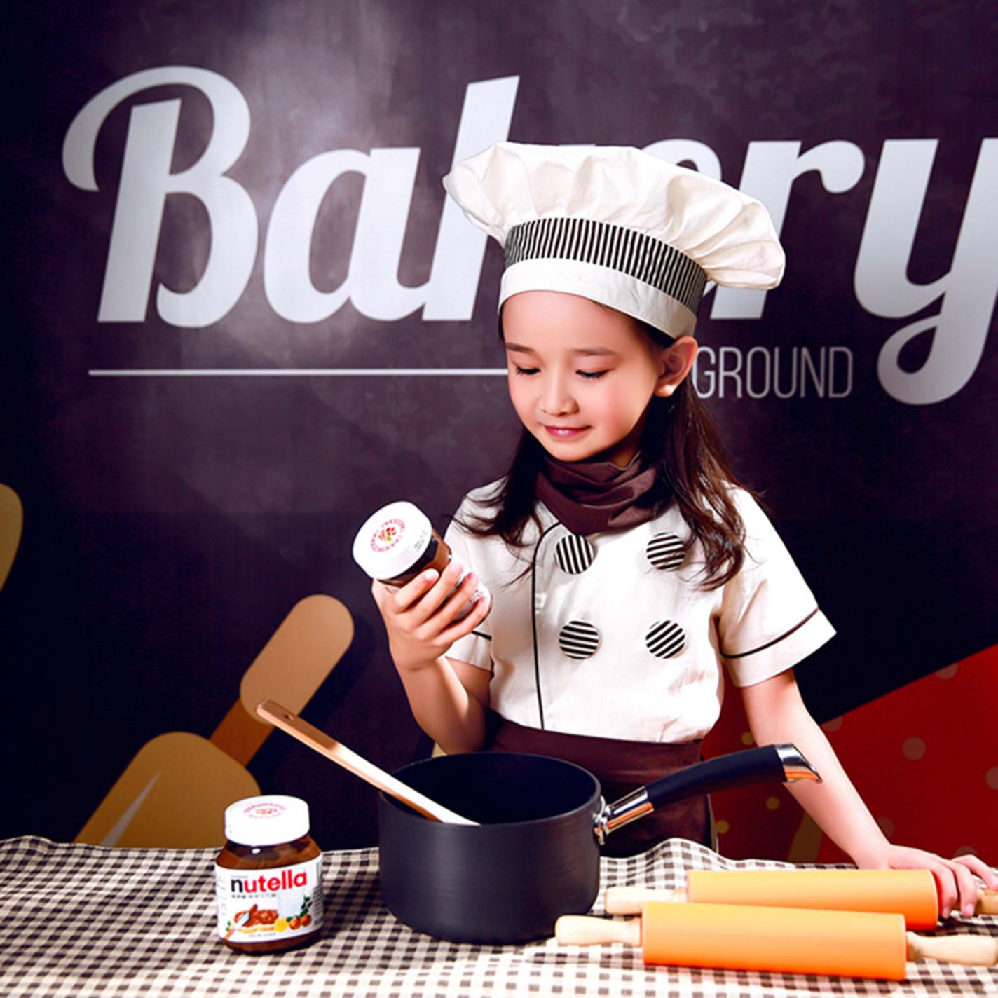 角色扮演简笔画_热卖六一亲子厨师服演出服儿童幼儿小厨师服装cos厨师角色扮演衣服