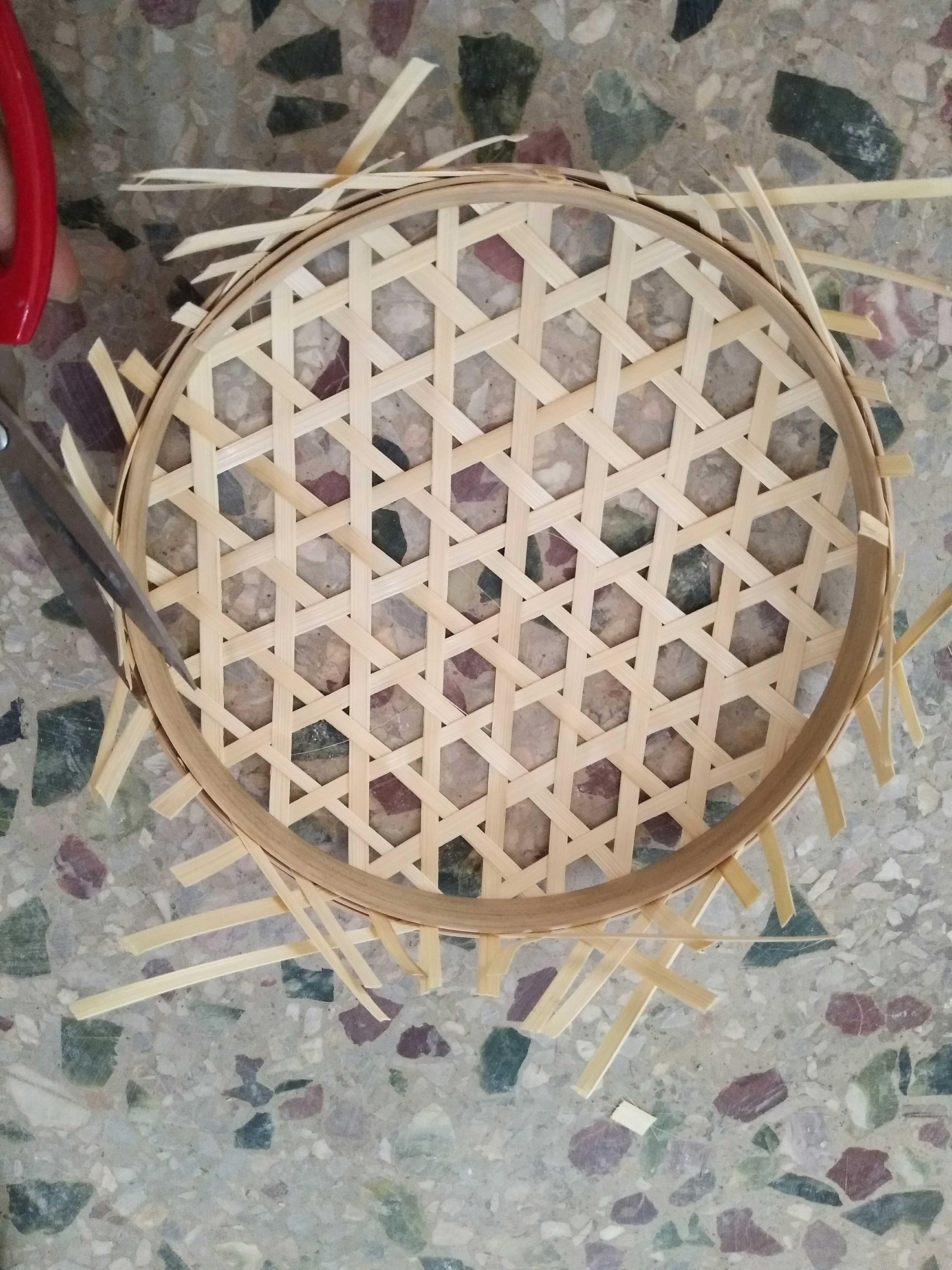 热卖手工简易编织时尚创意竹编diy材料包亲子活动编织推荐图片