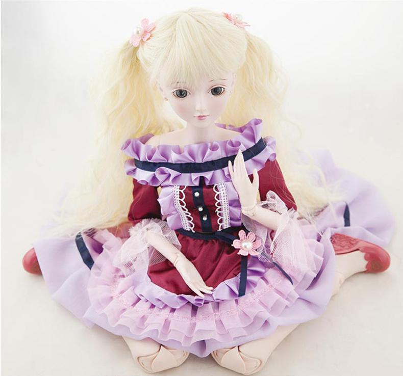 正品梦叶罗丽女孩娃娃莫纱60厘米可改装洋娃娃玩具积木夜萝莉海贼王船梅利号精灵图片