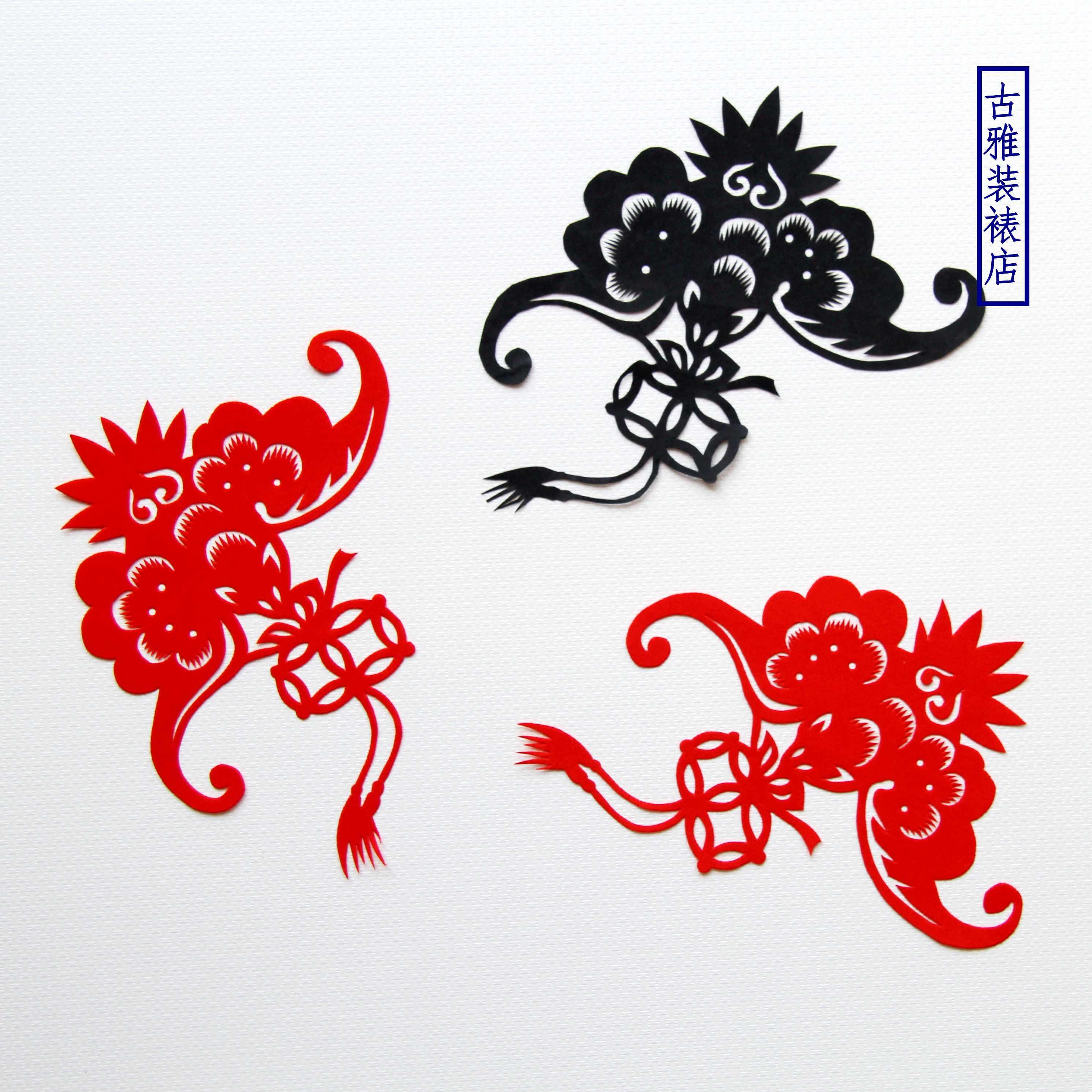 手工剪纸 中国风中国梦廉洁廉政学校社会主义核心价值图片
