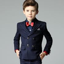 男童西装套装三件套英伦春秋冬中大童学生小孩生日儿童花童礼服男