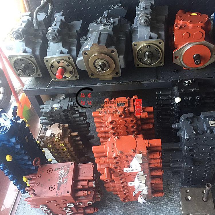 热卖挖掘机分配阀日立现代斗山60 75 80-7阀块分配器多路阀液压阀总成图片