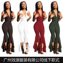 17 summer trade ladies sexy fashion jumpsuits��Ů�Ը������