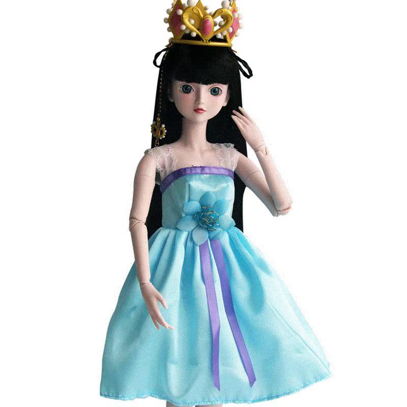 叶罗丽娃娃衣服鞋子夜萝莉仙子改妆假发叶萝莉换装头发全套配件图片