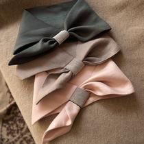 限 包邮分享 特颜色好看炸了 回馈老客户 亚麻钉珠多用途假领