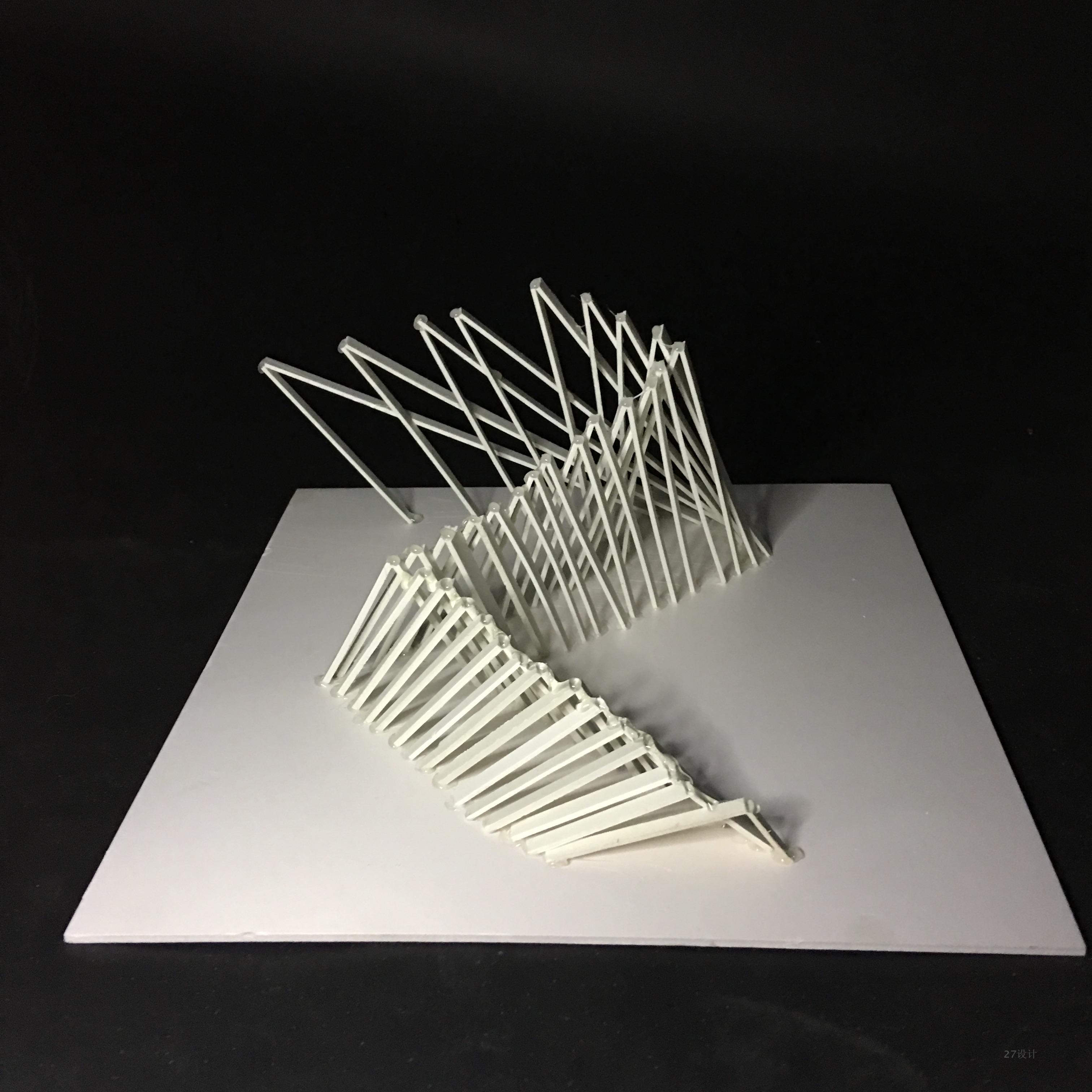 成品点线面立体构成模型diy空间形态pvc材料硬线构成图片