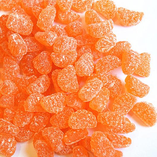 贝乐园软糖橡皮糖小桔子软糖橡皮糖 软糖砂糖橘子形状5斤包邮散装