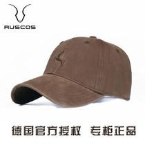德国RUSCOS棒球帽男士加大码帽子户外休闲鸭舌帽遮阳太阳帽