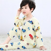Children's ��� Pajamas set summer boys and girls thin long