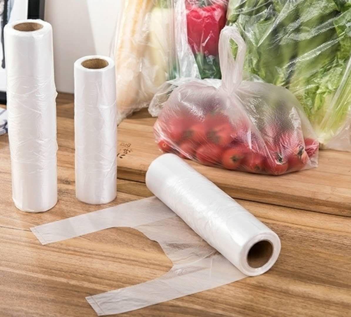 热卖背心式冰箱连卷袋家用大号食品袋一次性加厚手撕袋200只保鲜袋